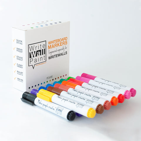 WriteWallPaint markers 14 colours