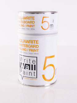 5 m2 AquaWrite Whiteboard paint WHITE