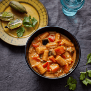 Thai Red Vegetable Curry with Brown Rice