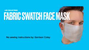 Make Your Own No-Sew Mask