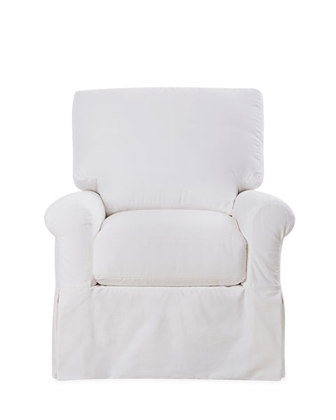 The Hawthorne House Signature Marianne Slipcovered Club Chair