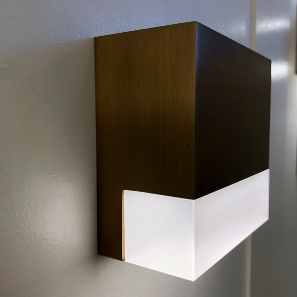 Mortar Wall Sconce