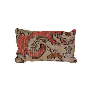 12 x 22 Vintage Turkish Rug Pillow
