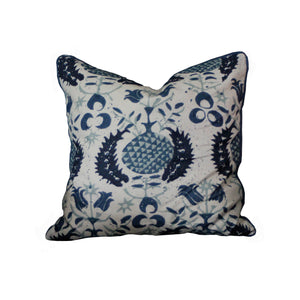House Bespoke 18 x 18 Pomegranate Pillow