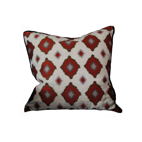 Hawthorne House Bespoke 22 x 22 Sikar Embroidery Pillow