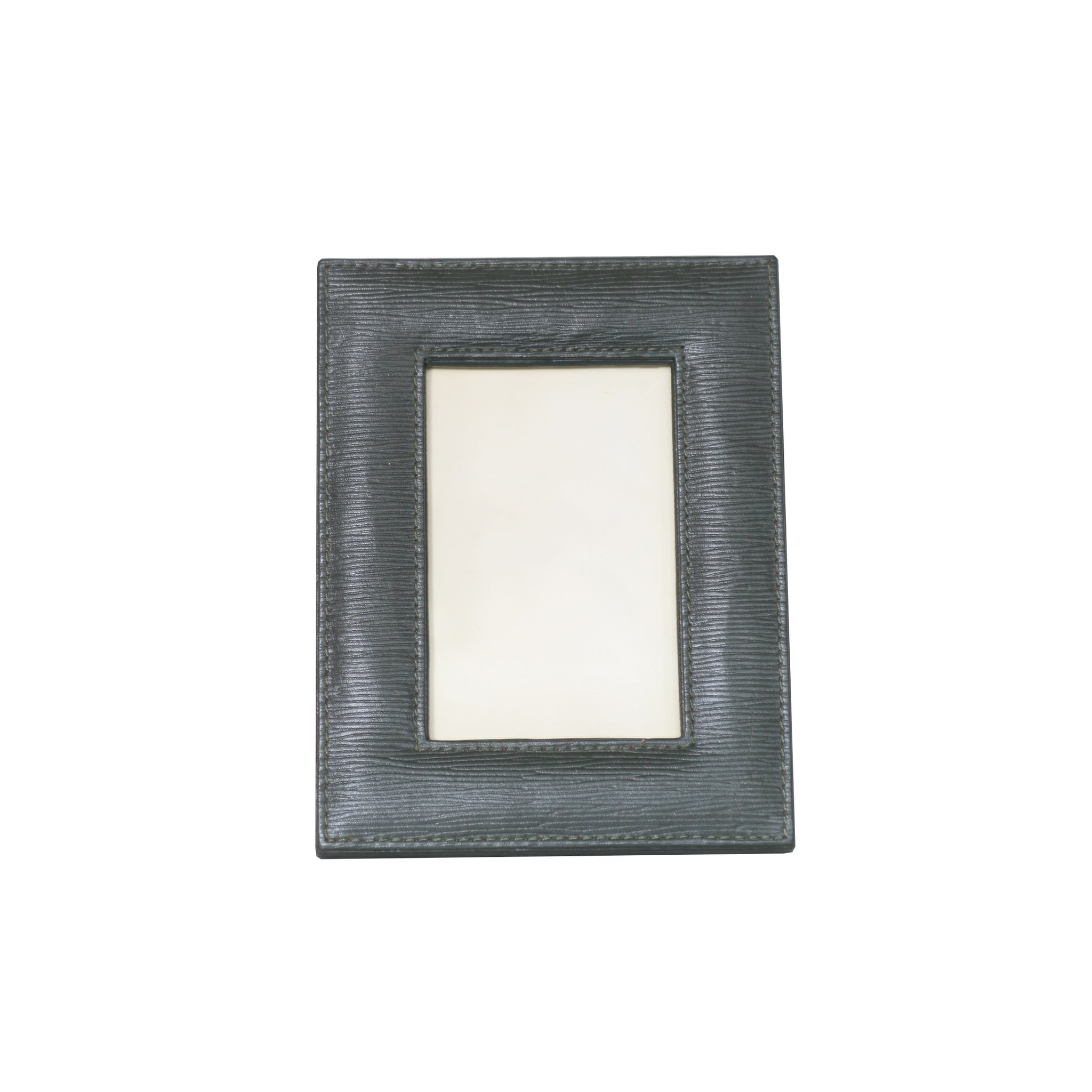 8 x 10 Green Leather Frame