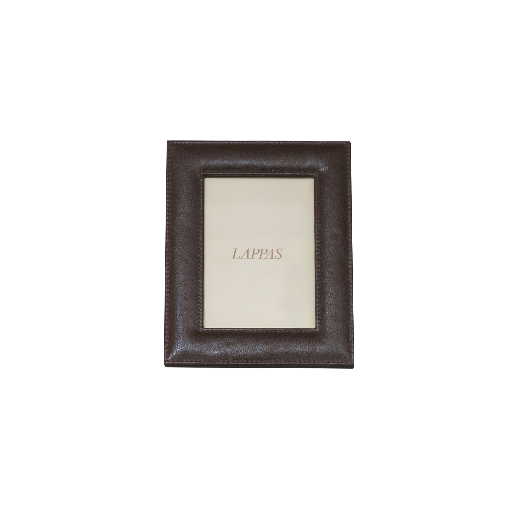 8 x 10 brown leather frame