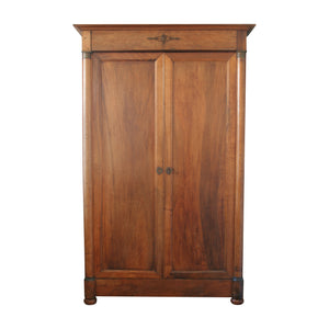 19th Century French Walnut Armoire
