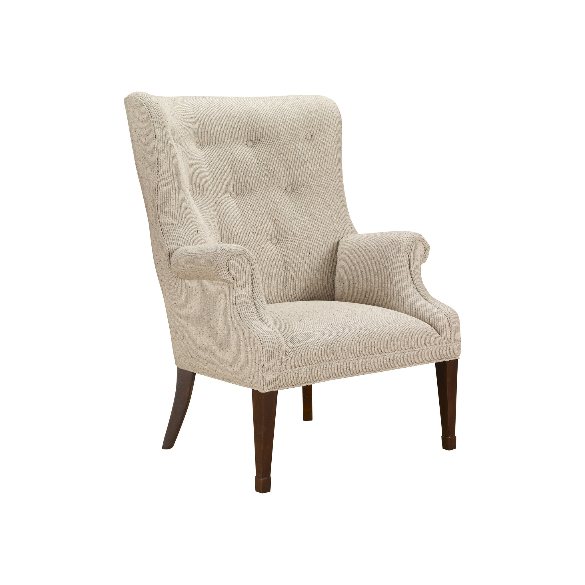 Isaac Wing Chair in natural