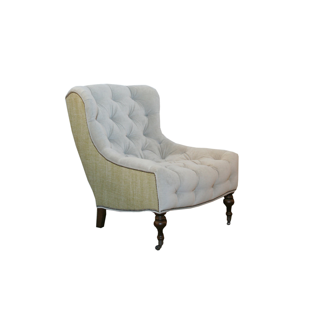 Miraculous Camille Tufted Chair Hawthorne House Bralicious Painted Fabric Chair Ideas Braliciousco