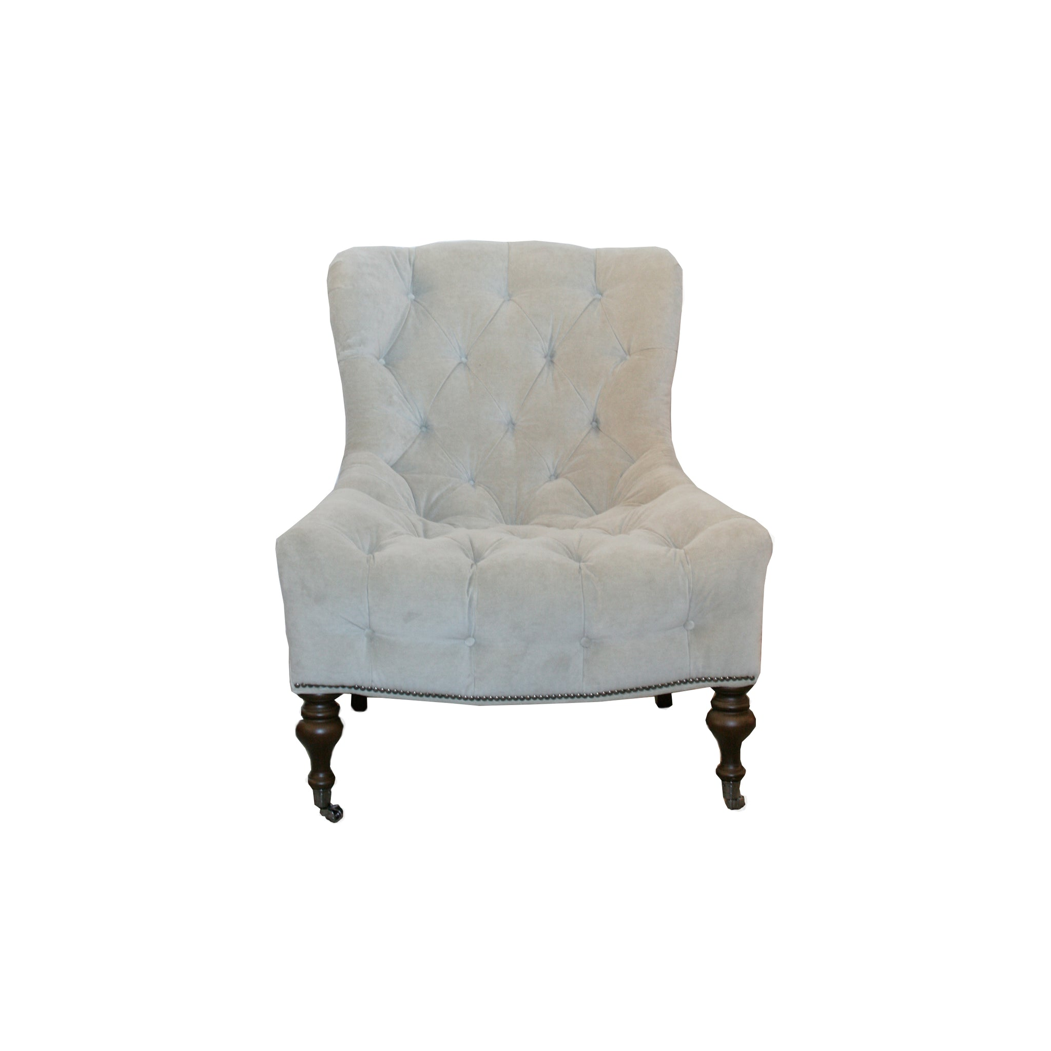 Excellent Camille Tufted Chair Hawthorne House Bralicious Painted Fabric Chair Ideas Braliciousco