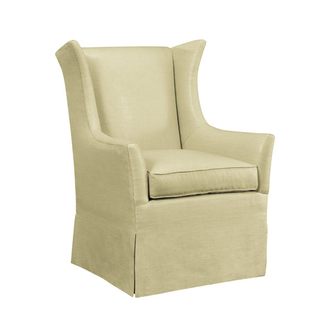 Jackson Skirted Wing Chair