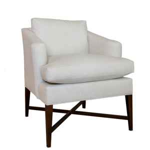 The Montgomery chair in Natural Linen