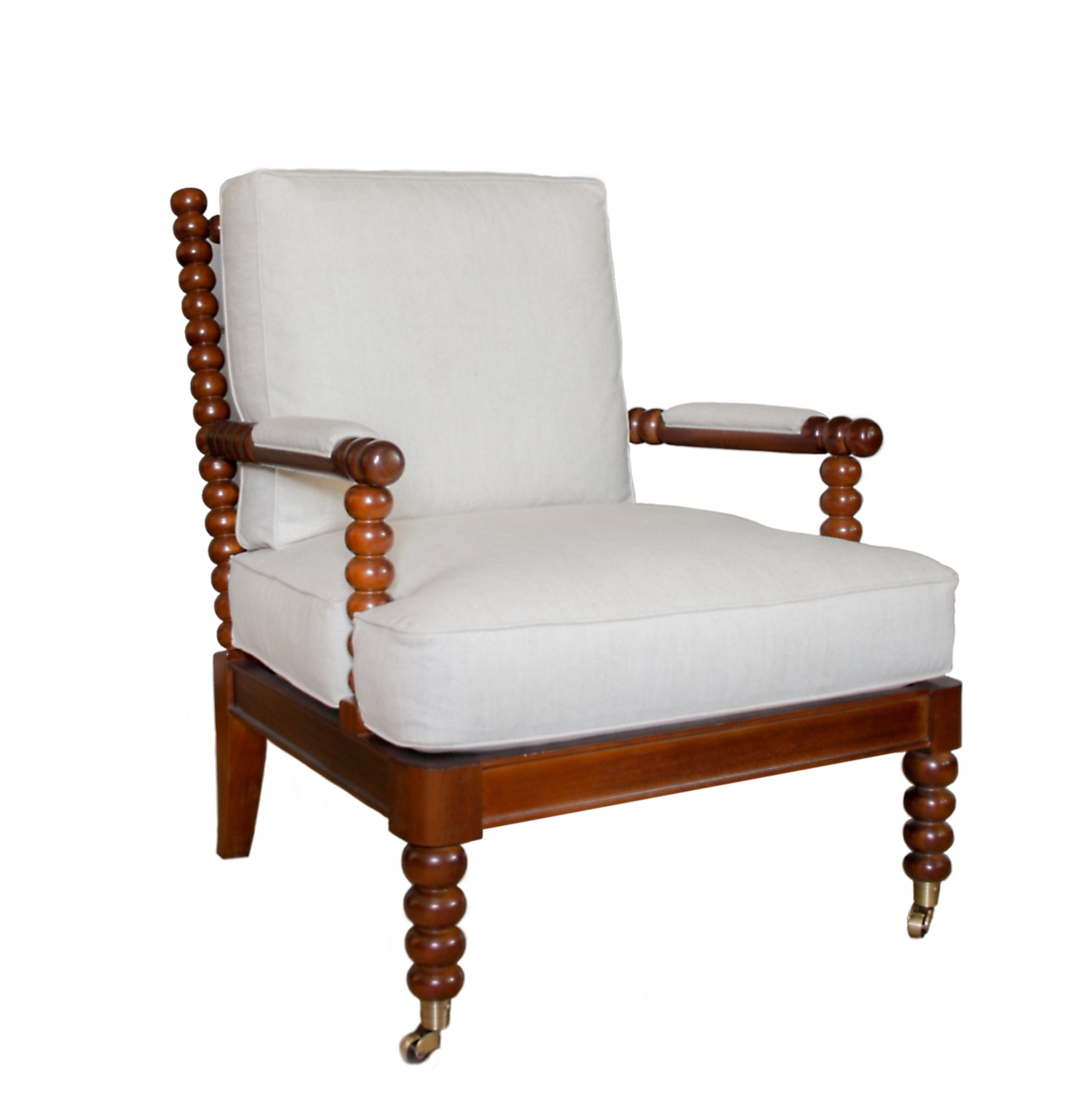The Spool chair profile in white