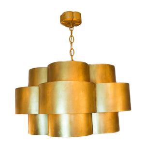 Arabelle Hanging Shade Chandelier in Gild