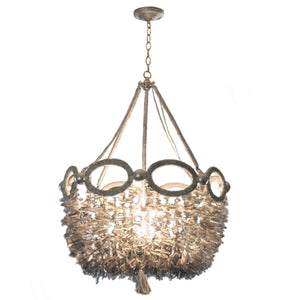 Fiona Chandelier from Ro Sham Beaux in blue quartz