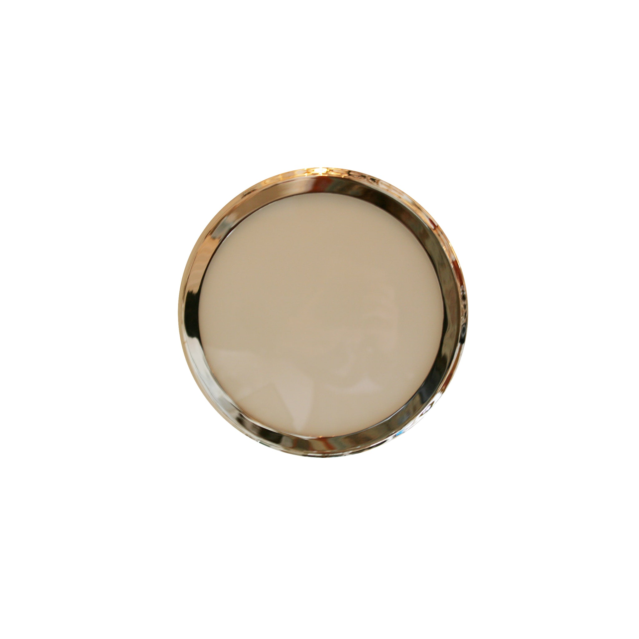 Alderly Small Flush Mount in polished nickel