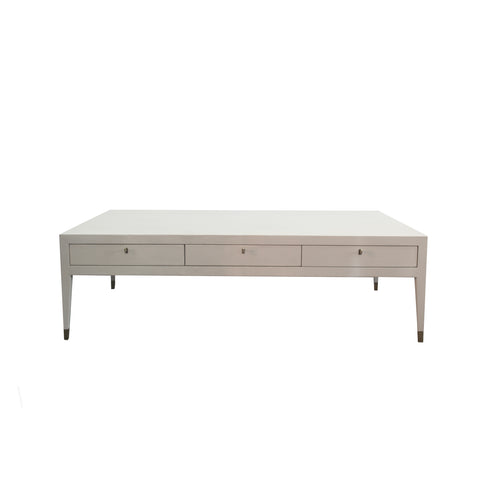 monroe coffee table in shagreen