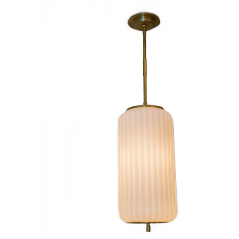 Eden medium pendant in antique burnished brass