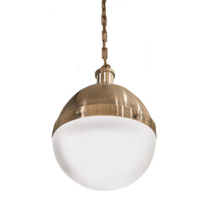 Hicks large pendant in antique nickel