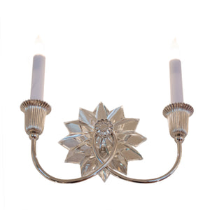 Huntingdon Double Sconce in Hand-Rubbed Antique Brass
