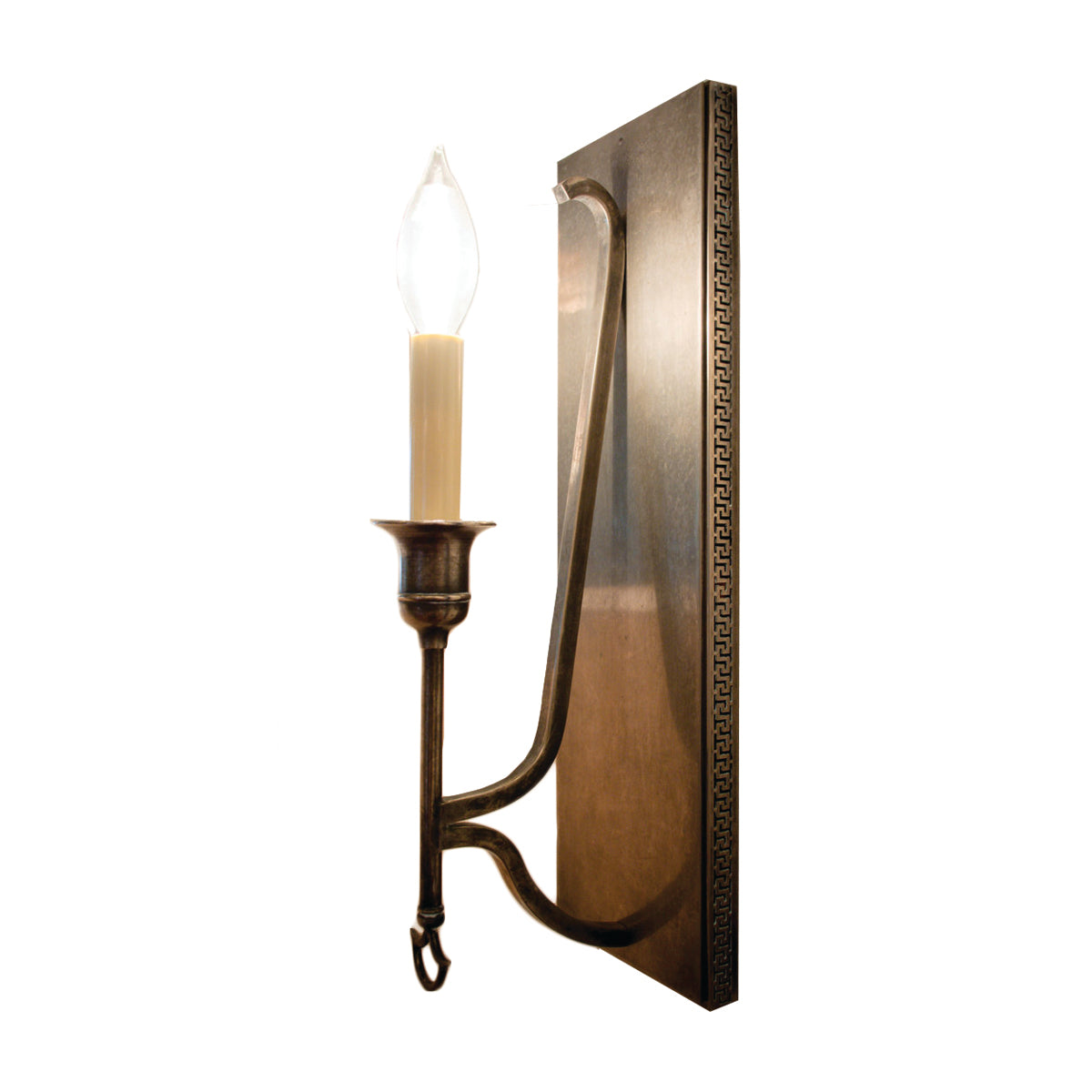Savannah Sconce by Visual Comfort & Co. in Sheffield Nickel
