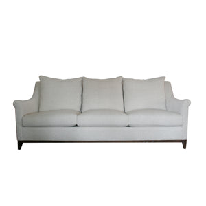 Jules sofa from Hickory Chair in solid natural woven