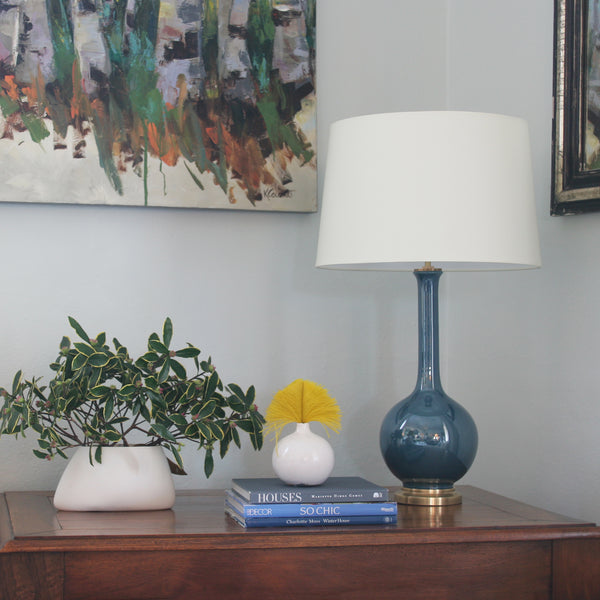 Coy Medium Table Lamp by Christopher Spizmiller for Visual Comfort & Co