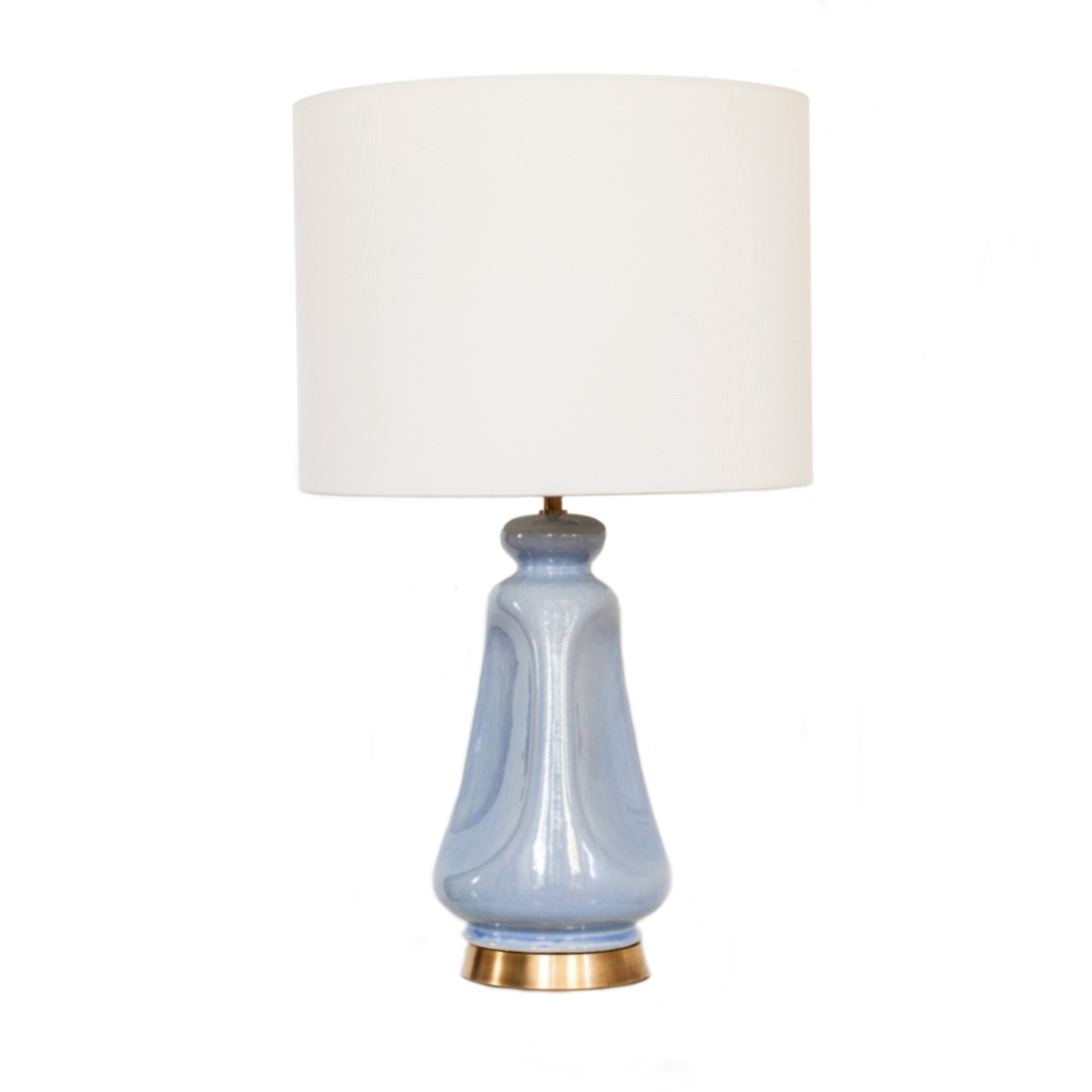 Kapila Table Lamp in Polar Blue Crackle