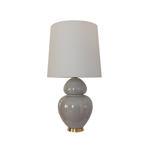 Michelena Table Lamp in Shellish Gray