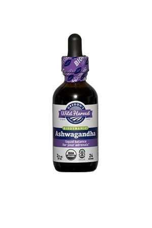 Ashwagandha Tincture For Adrenal Balance | Wild Harvest
