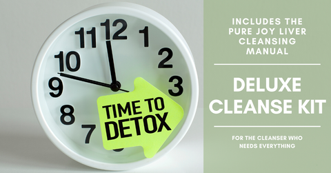 Pure Joy Deluxe Liver Cleanse Kit