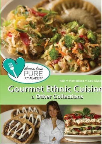 Elaina Love's Pure Joy Kitchen Bundle | Raw vegan Recipe Book Volumes 1 & 2