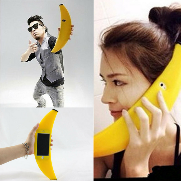banana shaped wacky big iphone 6 case