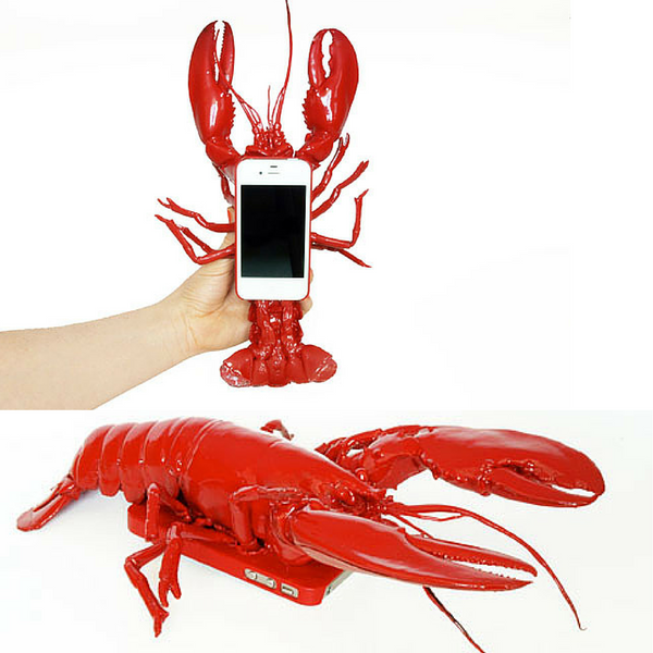 lobster shape iphone case bizarre