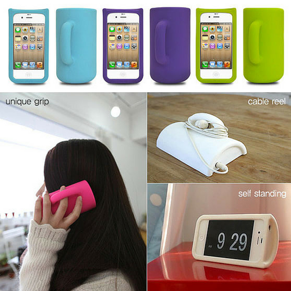 mug shaped iphone case