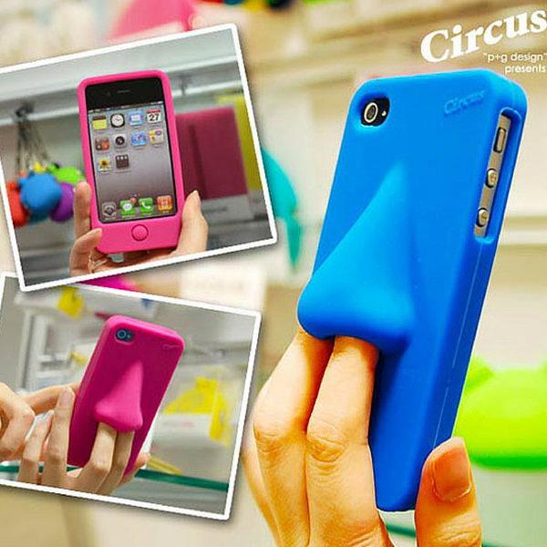 nose shaped weird iphone 5s case