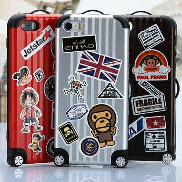 suitcase shape iphone 6 case