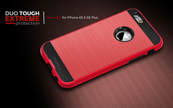 duo tough extreme iphone 6s and 6s plus cases available for pre-order