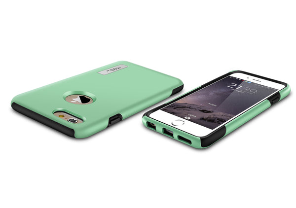 iphone 6s rugged mint green case