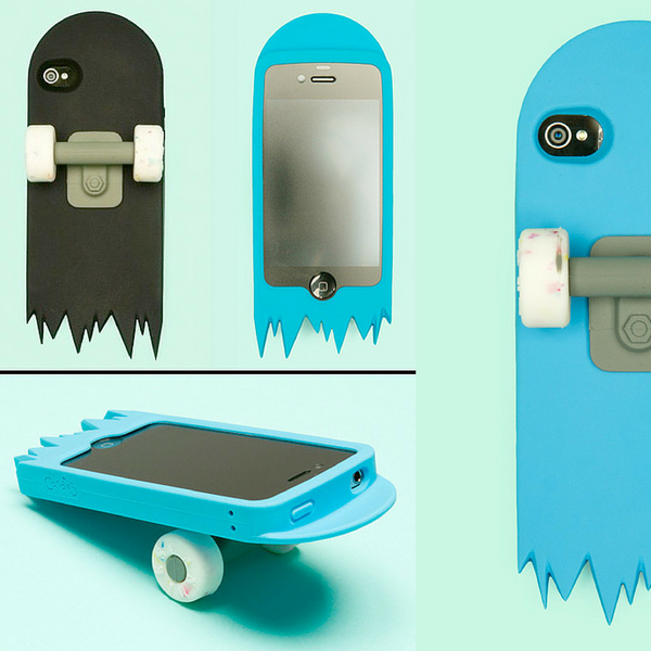 broken skateboard iphone case humor funny