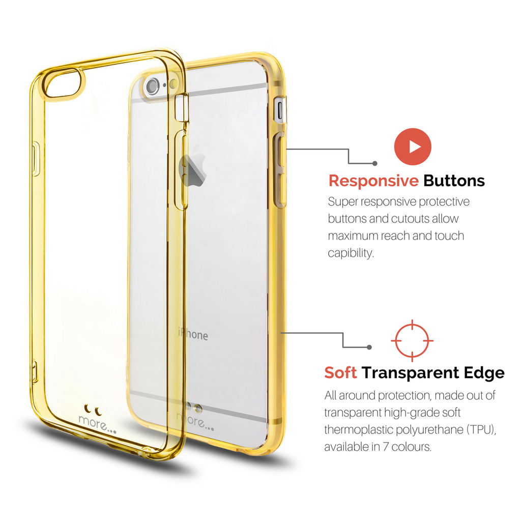 Gold iPhone 6s BumperLicious Case