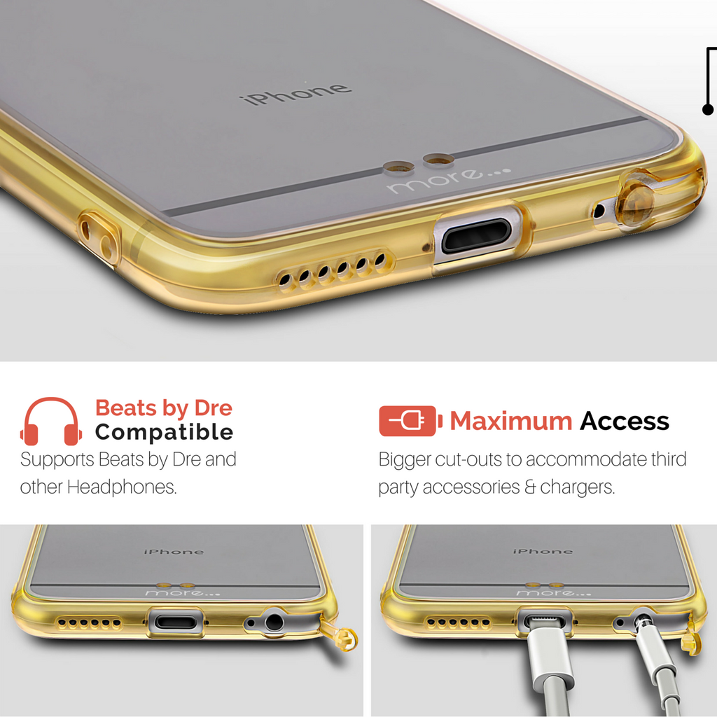 thinnest iphone 6s case close-up image