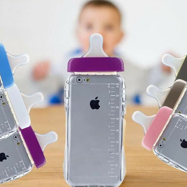 baby bottle weird funny iphone 6 case