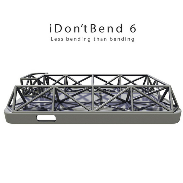 i dont bend iphone 6 and iPhone 6 plus case humirous