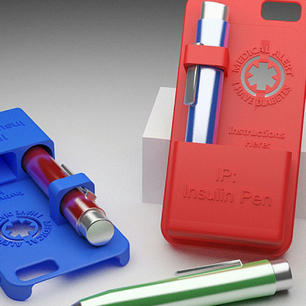 the insulin injection iphone 6 case