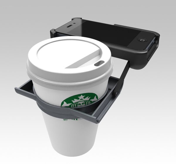 weirdest iphone 6 case with cup holder