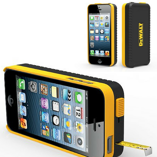 dewalt iphone measuring case