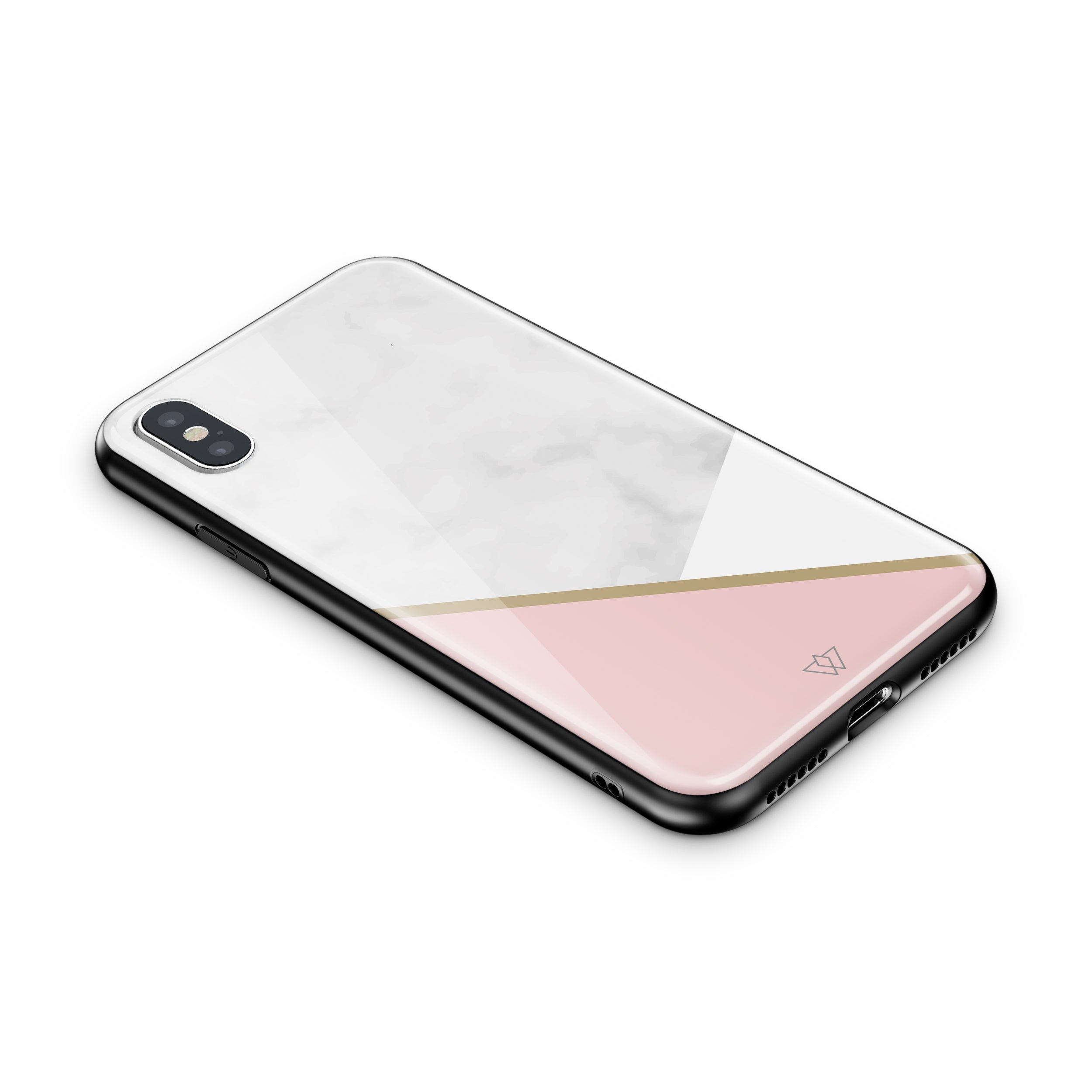 new product 189de 76847 Wisdom™ Real GLASS Back Protective Case for All iPhones