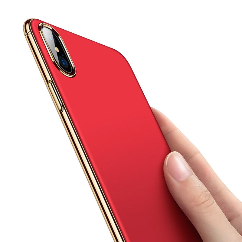 the best attitude 77204 8d66b Exclusive Chrome Edge Series Cases for Apple iPhone X [6 Colours]